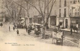 BRIGNOLES LA PLACE CARAMY - Brignoles
