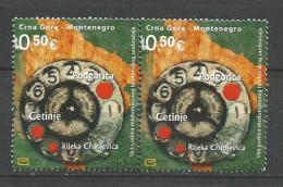 Montenegro 2007. Telephone,used Stamps - Montenegro