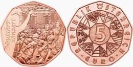 """AUSTRIA  5€  2.015  2015  COBRE-COPPER  SC/UNC   """"CONCIERTO DE AÑO NUEVO""""   T-DL-11.900 - Oostenrijk"""