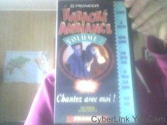 Cassette VHS De Karaoke Ambiance Volume 7 - Classic