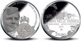 "HOLANDA  HOLAND  5€  2.015  2015  PLATA-SILVER  SC/UNC   ""FABRICA VAN NELLE""   T-DL-11.901 - Nederland"