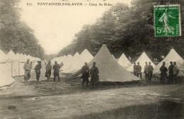 FONTAINEBLEAU - AVON - 77 - Camp De Bréau - Animée - 72444 - Fontainebleau