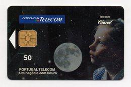 """Scheda Telefonica Prepagata """"Portugal Telecom (Portogallo) - Futuro -  Usata - (FDC1415) - Portogallo"""