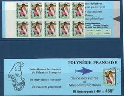 "Polynésie Carnet YT C427 "" Pêche Couleur Lagon "" 1993 Neuf** - Carnets"