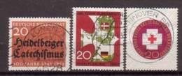 BRD , 1963 , Mi.Nr. 396 / 399 / 400 O - Gebraucht