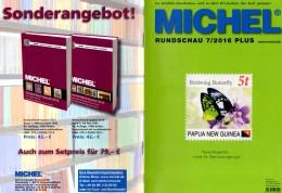 MICHEL Briefmarken Rundschau 7/2016-plus Neu 6€ New Stamps Of World Catalogue/magacine Of Germany ISBN 978-3-95402-600-5 - Zubehör