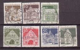 BRD , 1966 , Mi.Nr. 489 - 493 / 495 / 497 O - Gebraucht
