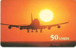 GlobalOne - Airplane Landing 02.98 - Frankreich