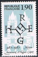 FRANCE : N° 2478 ** (Millénaire De L'avènement D'Hugues Capet) - PRIX FIXE - - France