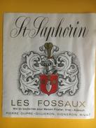 2334 - Suisse Vaud St-Saphorin Les Fossaux Dupré-Gilliéon Rivaz - Etiquettes