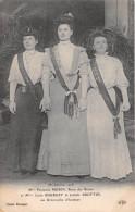 PARIS - Mi-carême 1908 -  Mlle MORIN, Reine Des Reines Et Mlles BOURGET Et BROTTIN Ses Demoiselles D'honneur - Francia