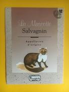2340 - Suisse Vaud Salvagnin La Mascotte - Etiquettes