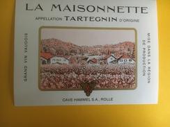 2346 - Suisse Vaud Tartegin La Maisonnette Petite étiquette - Etiquetas