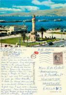 Konak Square, Izmir, Turkey Postcard Posted 1968 Stamp - Turchia