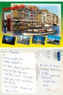 Copenhagen, Denmark Postcard Posted 2011 Stamp - Danemark