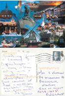 Montage, Denmark Postcard Posted 2009 Stamp - Danemark