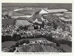 1959 - Héliogravure - Montrésor (Indre-et-Loire) - Vué Aérienne - FRANCO DE PORT - Vieux Papiers