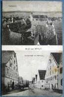GRUSS AUS SPALT - TOTALANSICHT - HAUPTSTRASSE MIT RATHAUS - Deutschland
