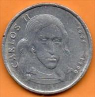 ESPAGNE  JETON / MEDAILLE  CARLOS II  1661 - 1700 Alu - Spain