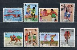 ZAIRE * 1985 * Mi # 889 - 896 * OLYMPIC GAMES * Full Set * MNH - Zaïre