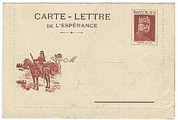 FRANCHISE MILITAIRE - CPFM - CORRESPONDANCE MILITAIRE - JOFFRE - CARTE LETTRE - WW1 - Militaire Kaarten Met Vrijstelling Van Portkosten