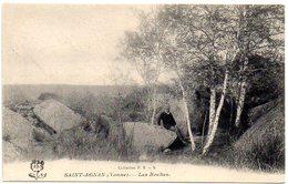 CPA 89 ( Yonne ) - SAINT AGNAN - Les Roches - Autres Communes