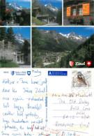 Zinal, VS Valais, Switzerland Postcard Posted 2009 Stamp - VS Valais
