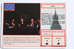 CARTE - Operation Blast - Mafia - Europe - Autres Jeux De Cartes