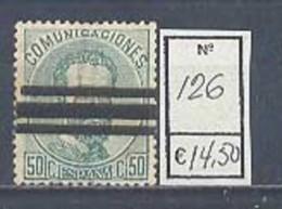 Año 1872 Corona Real, Cifras Y Amadeo Nº126 - 1872-73 Reino: Amadeo I