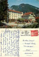 Hotel Beau Site, Interlaken, BE Bern, Switzerland Postcard Posted 1963 Stamp - BE Berne