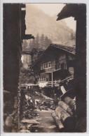DORFPARTIE IN ZERMATT - CARTE-PHOTO - VS Valais