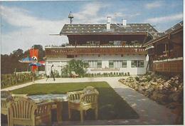 AK Berchtesgaden Landhaus Reichskanzlei,Terrasse Garten - Patriotiques
