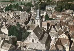 CPSM - BOUXWILLER (67) - Vue Aérienne Sur Le Quartier De L'Eglise En 1963 - Bouxwiller