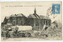 Montdidier  (80.Somme)  Couvent Des Dames De St-Maur - Voitures Militaires- - Militaria - Montdidier