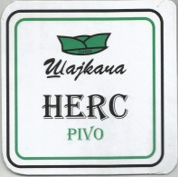 Herc Pivo Beer From Microbrewery Serbia - Beer Mats