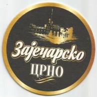 ZAJECARSKO CRNO PIVO DARK BEER ZAJECAR BREWERY SERBIA  Heineken Group - Beer Mats