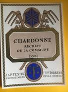 2362 - Suisse Vaud Chardonne Dorin Récolte De La Commune - Etiquettes