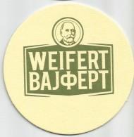 Weifert Pivo New Beer Coaster From Serbia - Beer Mats