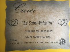 """2371 - Cuvée """"Le Saint-Valentin"""" Guilers - Cuori"""