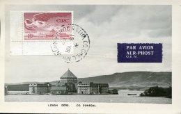 15335  Irland Eire Maximum 1962 The Castle Of Lough Derg, Schloss, Le Chateau De Cashel, Architecture - Cartes-maximum