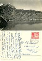 Pilatus, Hergiswil, NW Nidwalden, Switzerland RP Postcard Posted 1956 Stamp - NW Nidwald