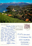 Spiez, BE Bern, Switzerland Postcard Posted 1982 Stamp - BE Berne