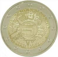@Y@  Duitsland 2 Euro  A   10 Jaar Euro  2002-2012 - Germany