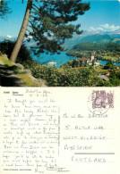 Spiez, BE Bern, Switzerland Postcard Posted 1980 Stamp - BE Berne