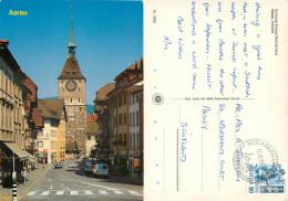 Aarau, AG Aargau, Switzerland Postcard Posted 1987 Stamp - AG Argovie