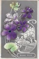 Bonne Fête -  Violettes - Fêtes - Voeux