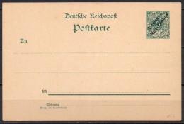 Deutsche Neuguinea - Nouvelle Guinée - 1898 - Michel N° P 1 * - Colonie: Nouvelle Guinée