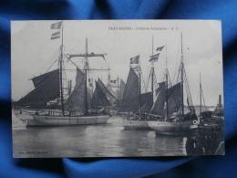 Bray Dunes Goelettes Islandaises - éd. Manché Vanderen Non Circulée L278B - Bray-Dunes