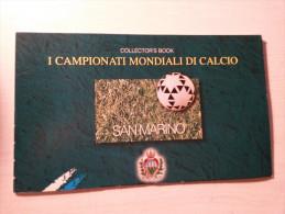 CARNET SAINT-MARIN - Campionati Mondiali Di Calcio - - Carnets