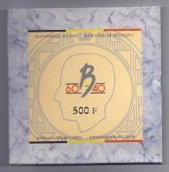 PROOFSET 500 BEF Duits + Frans + Nederlands 1990 ZILVER - 1951-1993: Baudouin I